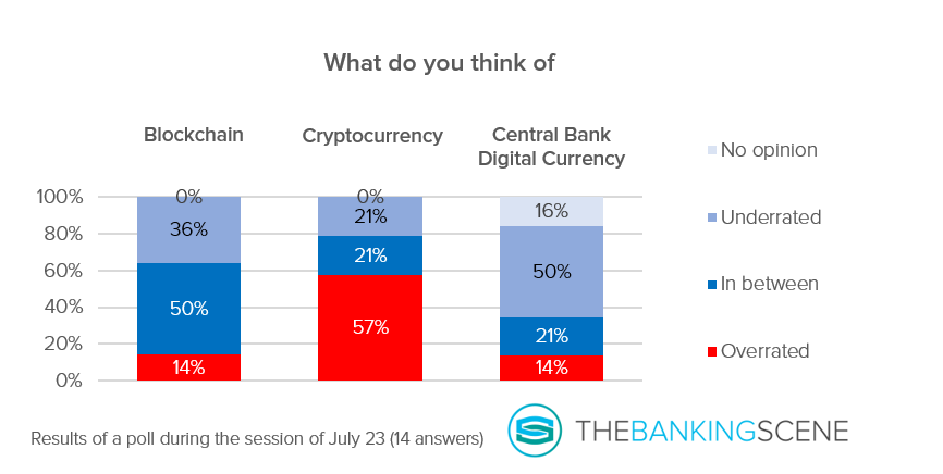 Graph opinion on blockchain crypto and CBDC